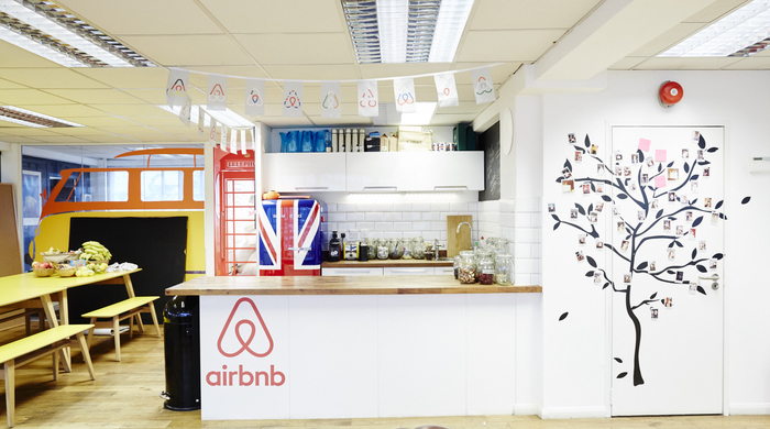 london office design. Airbnb Office. London Office Design