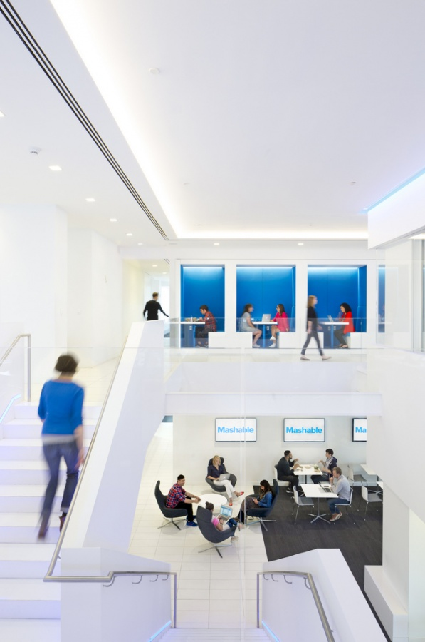 Mashable New York Office Design