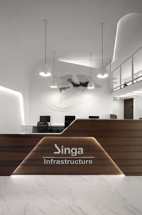 Singa Infrastructure Mumbai India Office Design