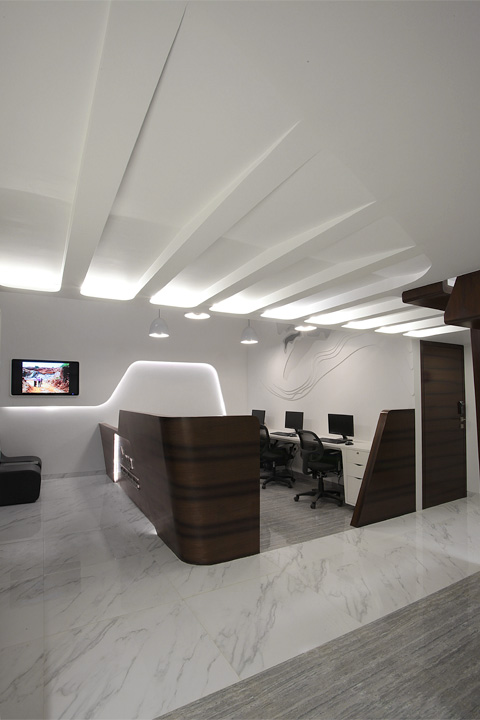 Singa infrastructure mumbai office design gallery the for Office design gallery